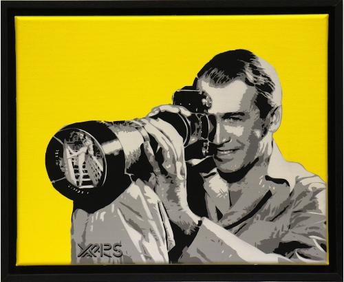 Street Art Artwork REAR WINDOW JAMES STEWART