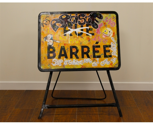 ARTISTE BARREE