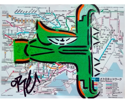 TOKYORÉ METRO MAP