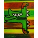 Street Art Artwork ABSTRACT QUETZALCOATL N°11