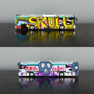BUS SKULL SKY THE LIMIT